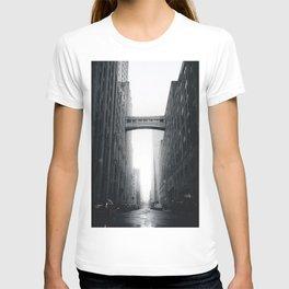 Snow Bridge in New York T-shirt