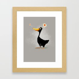Duck and Junebug Framed Art Print
