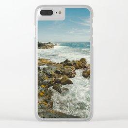 Hawaiian Ocean III Clear iPhone Case