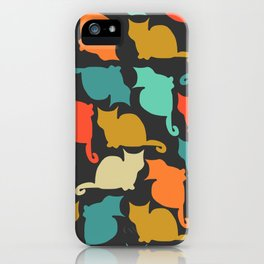 Cats and kittens iPhone Case