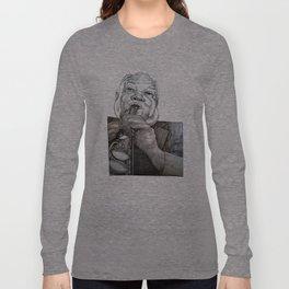 Sidney Bechet -Sketchbook Series Long Sleeve T-shirt