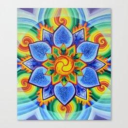 Flower of Strength Canvas Print