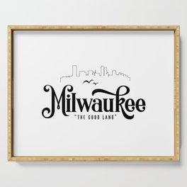 Milwaukee Serving Tray