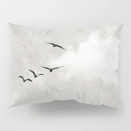 minimal collage /silence Pillow Sham
