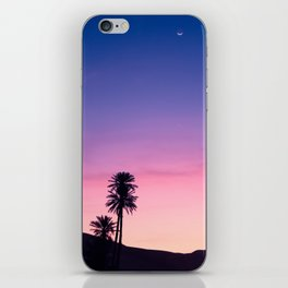 Sunrise Moon and Star over the Moroccan Desert iPhone Skin