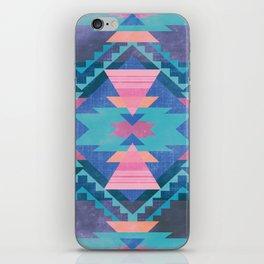Native Blue iPhone Skin