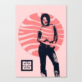 jean ad 2 Canvas Print