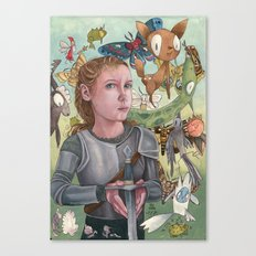 Protecting Your Imagination Canvas Print