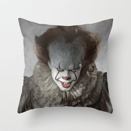 Pennywise The Clown Throw Pillow