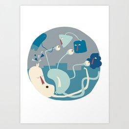 Entanglements 1 Art Print