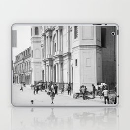 Saint Louis Cathedral, New Orleans 1910 Laptop & iPad Skin