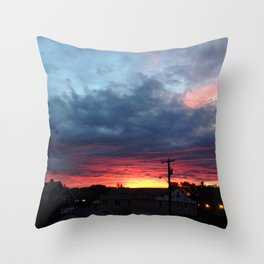 Salvation Army Sunset 118 ave, 95 st. Throw Pillow