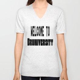 Welcome to Bruniversity Unisex V-Neck