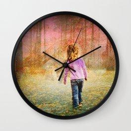 Where's Hansel Wall Clock