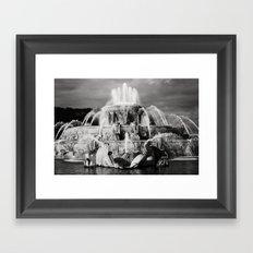 Chicago's Buckingham Fountain Framed Art Print