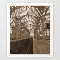 gare do oriente Art Print
