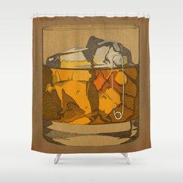 Scotch  Shower Curtain
