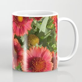 Coral Flowers Coffee Mug