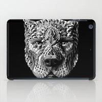 pitbull iPad Cases featuring Pitbull by BIOWORKZ