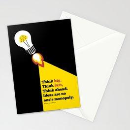 Lab No. 4 - Think Big Dhirubhai Ambani Reliance Corporate Startup Quotes Poster Stationery Cards