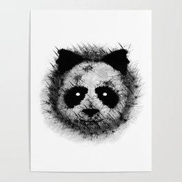 The panda by Brian Vegas Poster