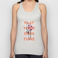 Play you own tune Unisex Tank Top