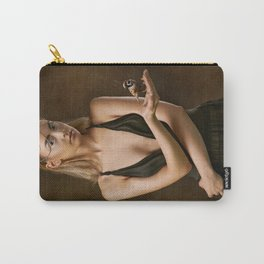 Girl with a Bird Carry-All Pouch