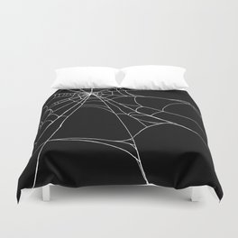 Spiderweb Duvet Cover