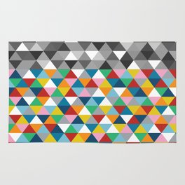 Triangles with Topper Rug