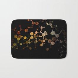 Metallic Molecule Bath Mat