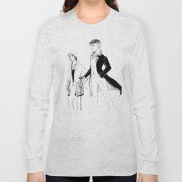 Kaz and Inej Long Sleeve T-shirt