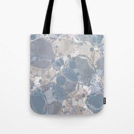 Round & Round Smoke & Steel Tote Bag