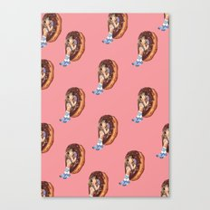 Treat Yo Self Dots Canvas Print