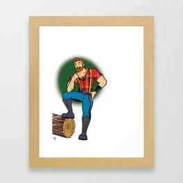 Jack! Framed Art Print