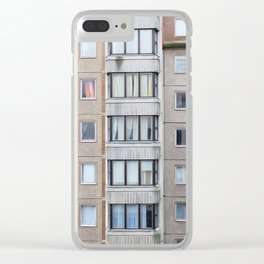 East of Berlin, Germany Clear iPhone Case