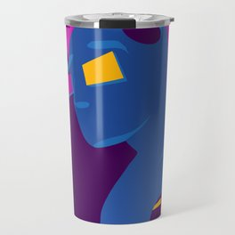 Beyond The Path/Clouds and Mountains/Big Heart Illuminated/Sunset of a Tropical Island Travel Mug