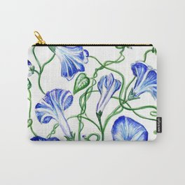 Morning Glory Vine Carry-All Pouch