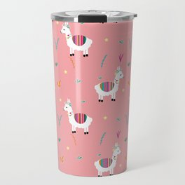 Alpaca-corn Travel Mug