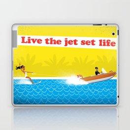 Live The Jet Set Life! Laptop & iPad Skin