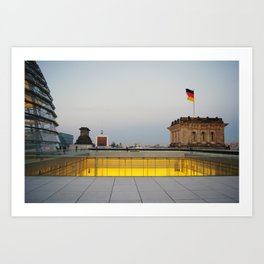 Berlin from the Reichstag Roof Art Print