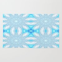 frozen Area & Throw Rugs featuring Frozen  by 2sweet4words Designs