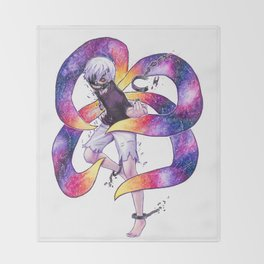 Nebula Kaneki Ken Tokyo Ghoul Throw Blanket