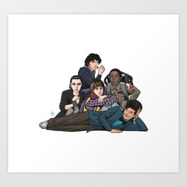 The Stranger Club Art Print