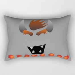 Minimalist Bowser Rectangular Pillow