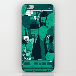 Breaking Bad (green version) iPhone Skin