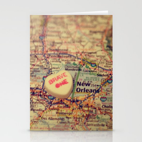 Brave One New Orleans Stationery Cards