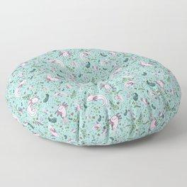 Axolotls Floor Pillow