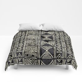 Tribal mud cloth pattern Comforters