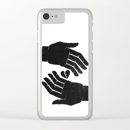 broken things Clear iPhone Case