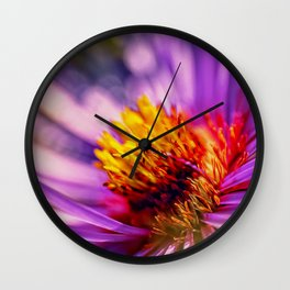 Flower detail 3 Wall Clock